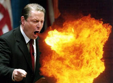 Gore Breathing Fire